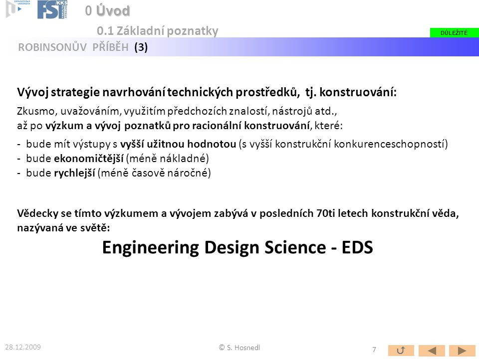Engineering Design Science - EDS