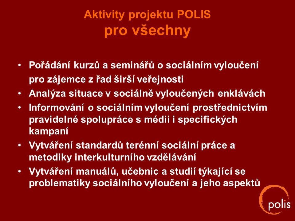Aktivity projektu POLIS pro všechny