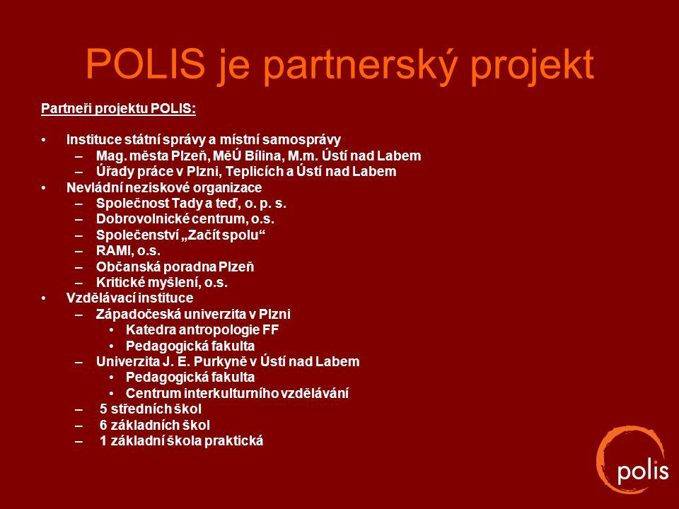 POLIS je partnerský projekt