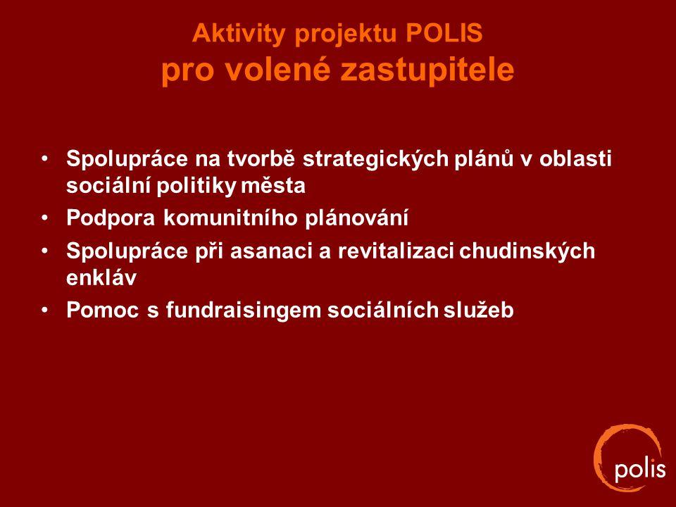 Aktivity projektu POLIS pro volené zastupitele