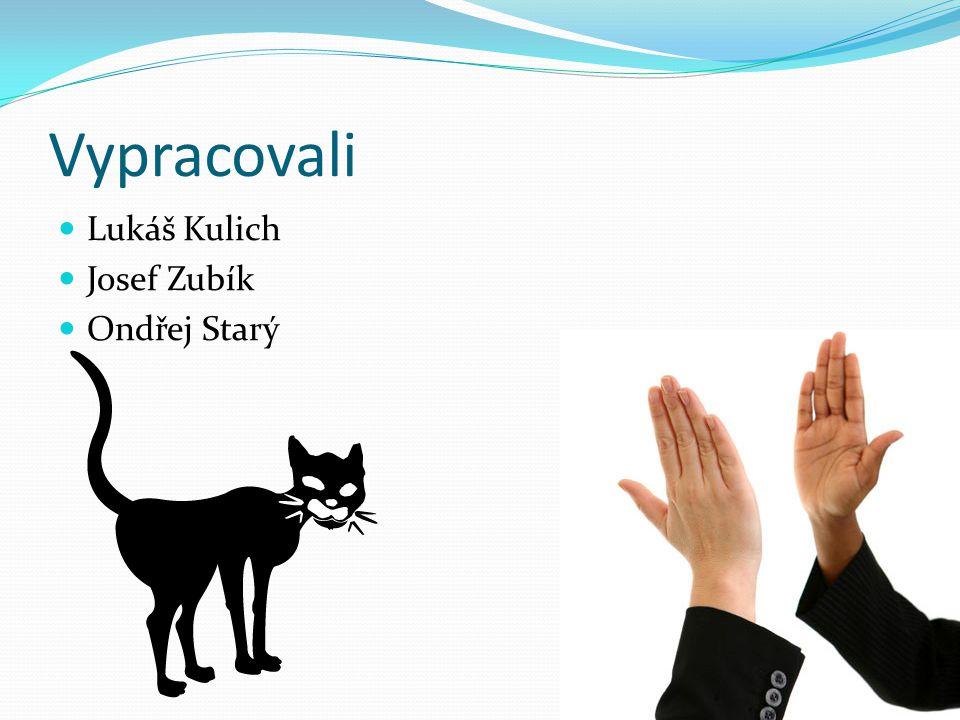 Vypracovali Lukáš Kulich Josef Zubík Ondřej Starý