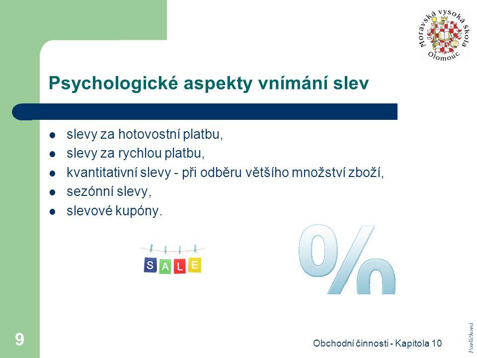 Psychologické aspekty vnímání slev