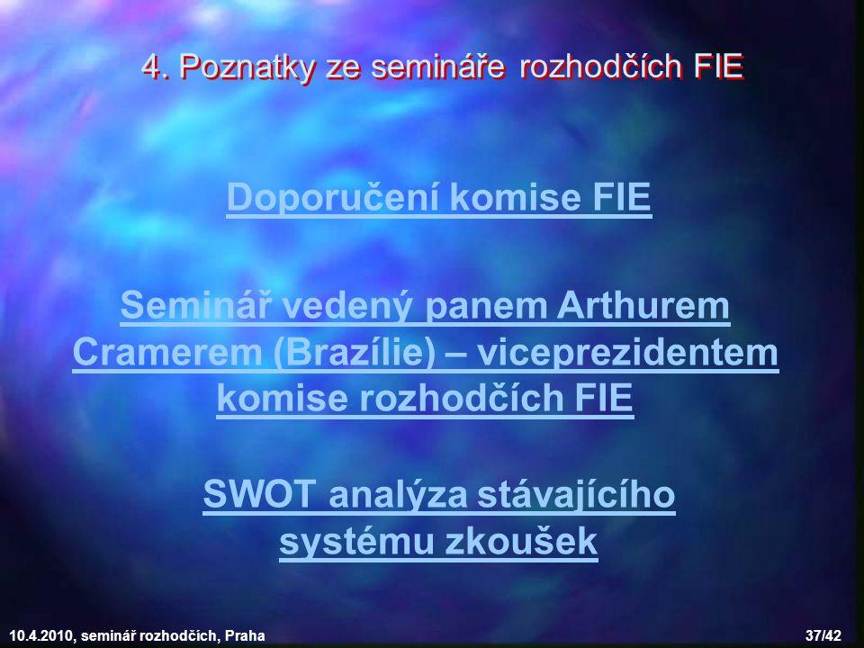 SWOT analýza stávajícího