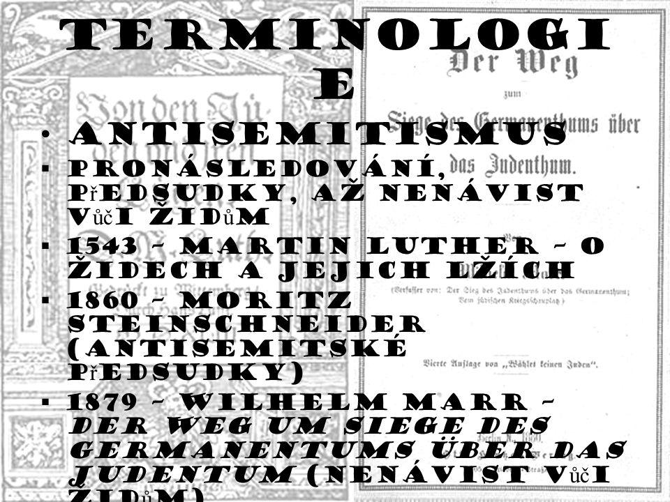 Terminologie Antisemitismus Holokaust