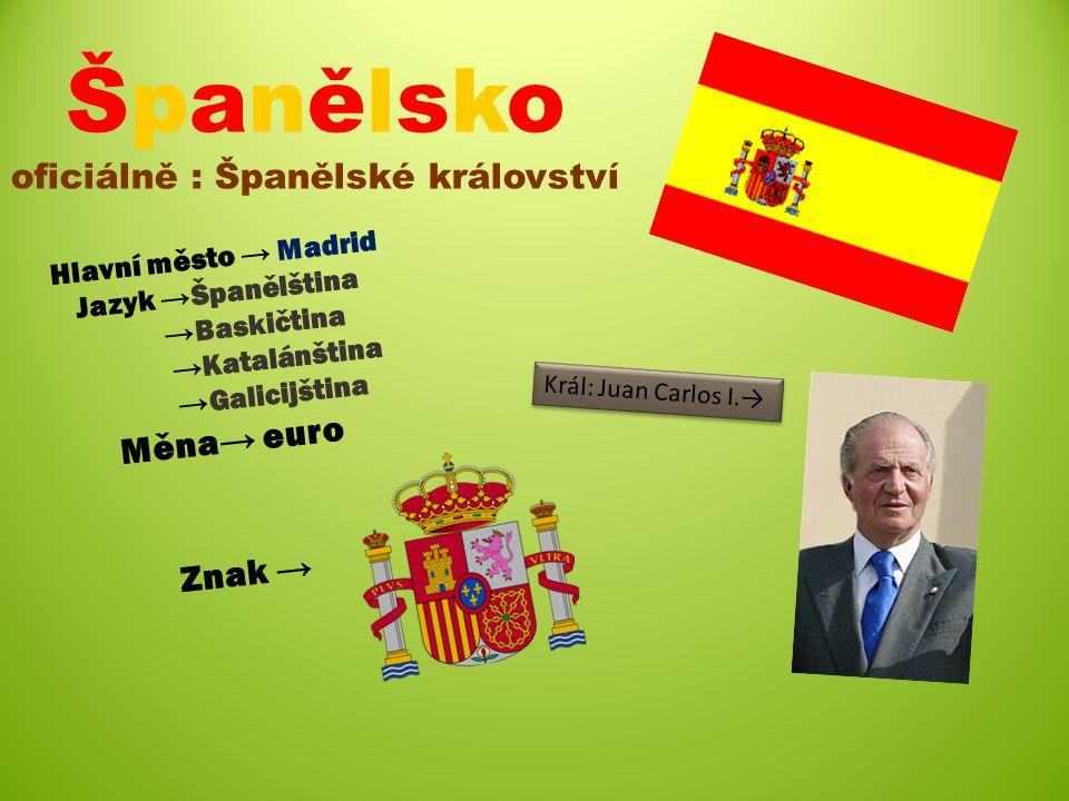 Španělsko oficiálně : Španělské království
