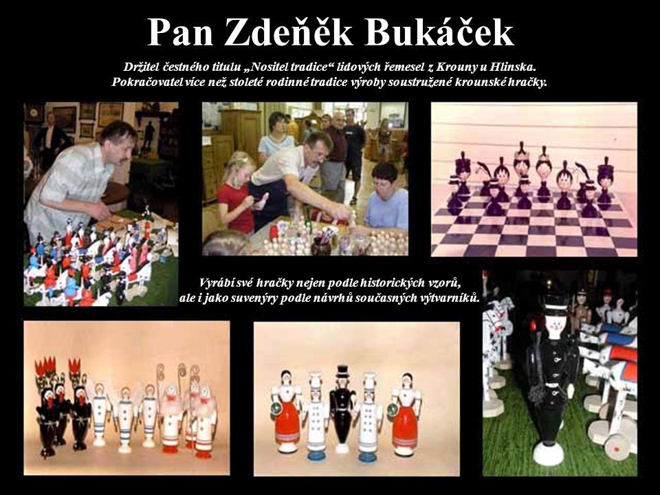 Pan Zdeňěk Bukáček