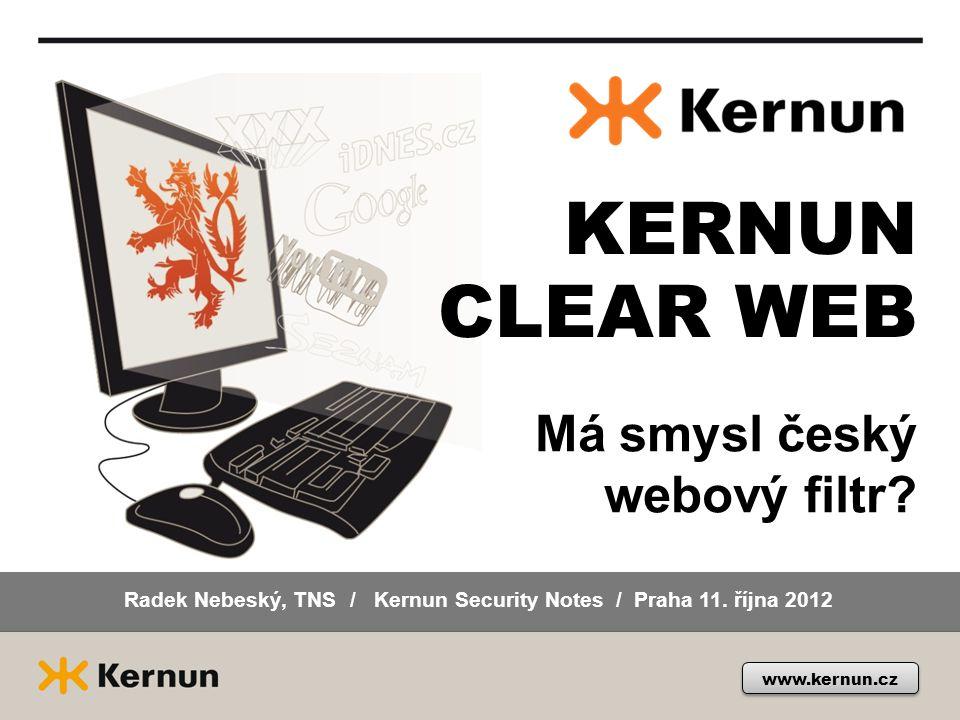 Radek Nebeský, TNS / Kernun Security Notes / Praha 11. října 2012