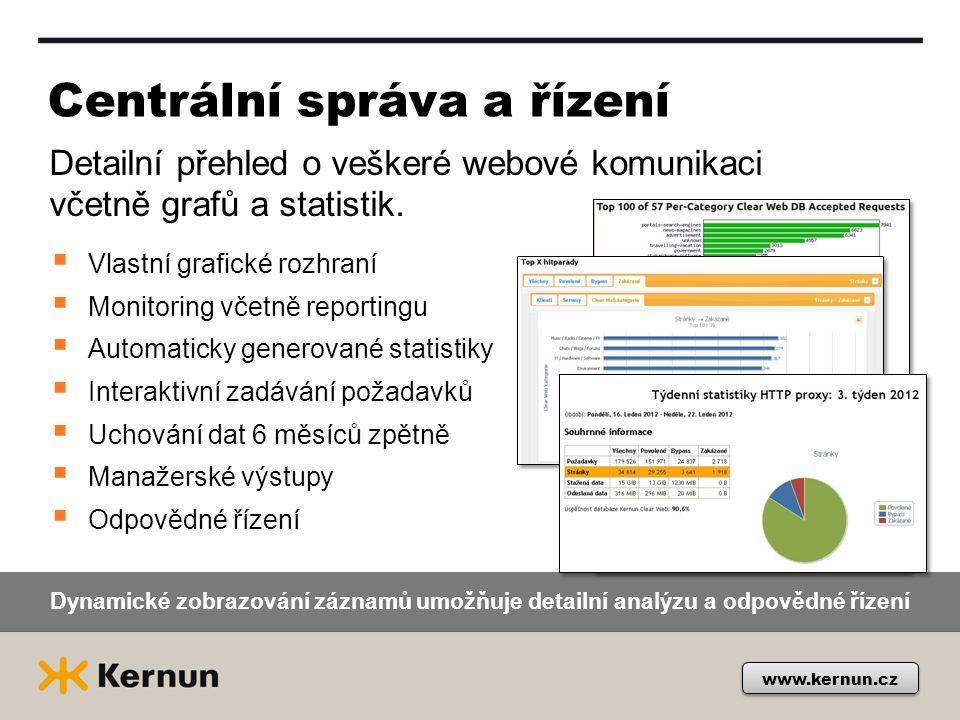 Centrální správa a řízení