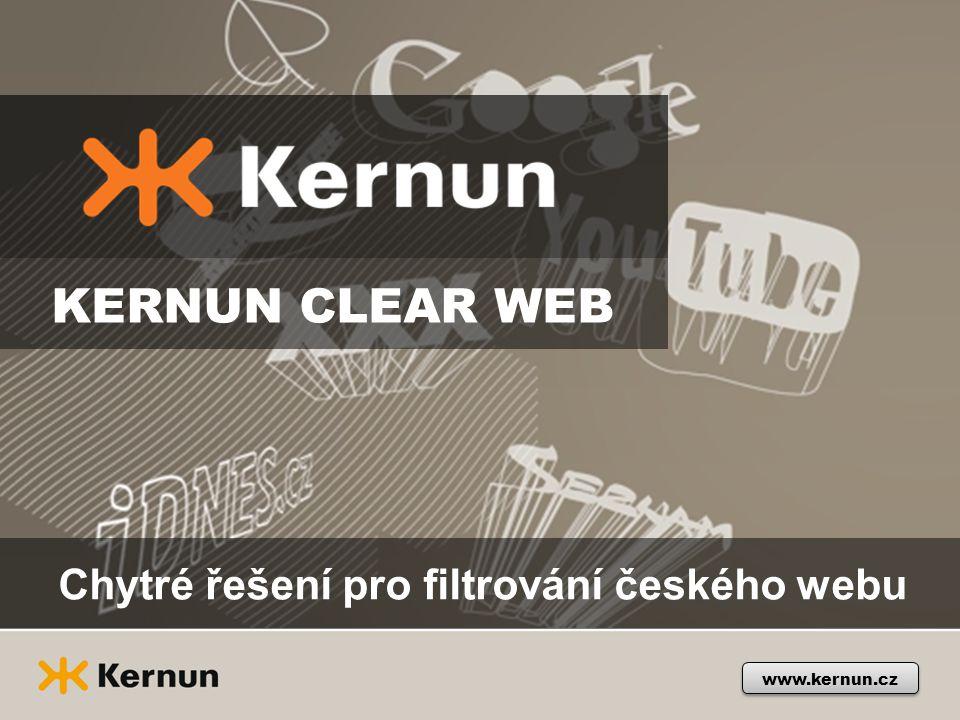 Chytré řešení pro filtrování českého webu