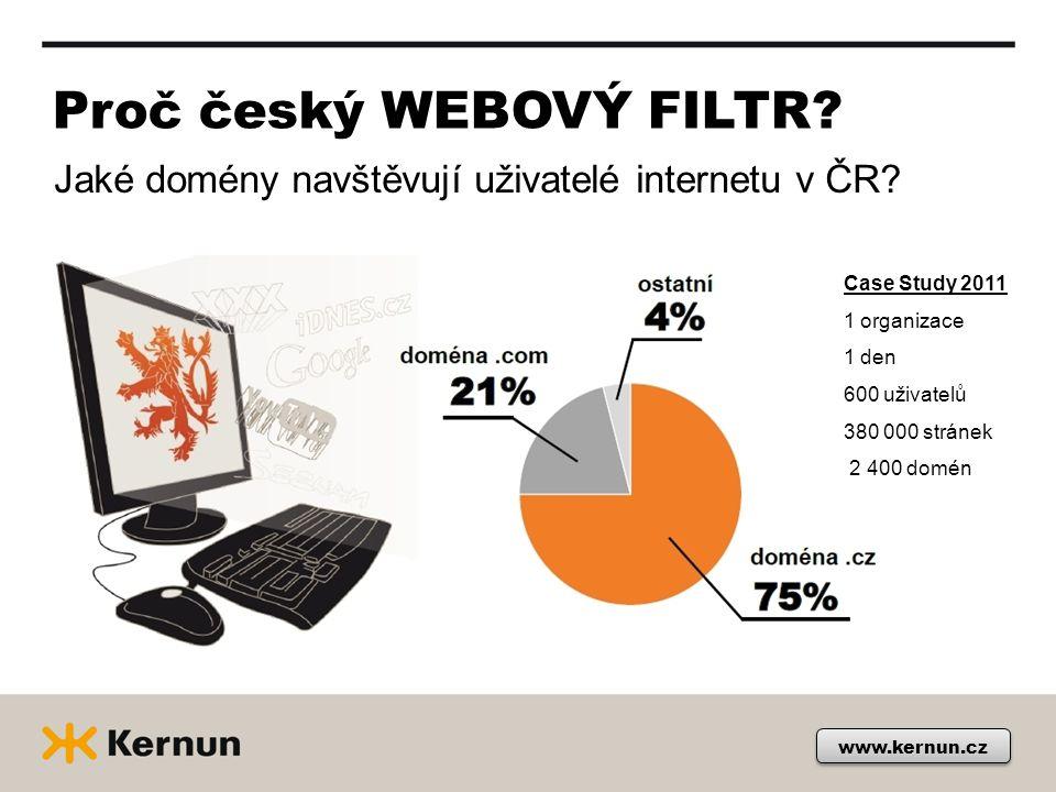 Proč český WEBOVÝ FILTR