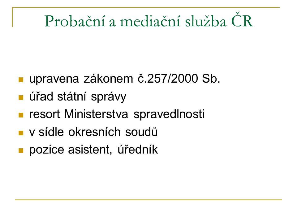 Probační a mediační služba ČR
