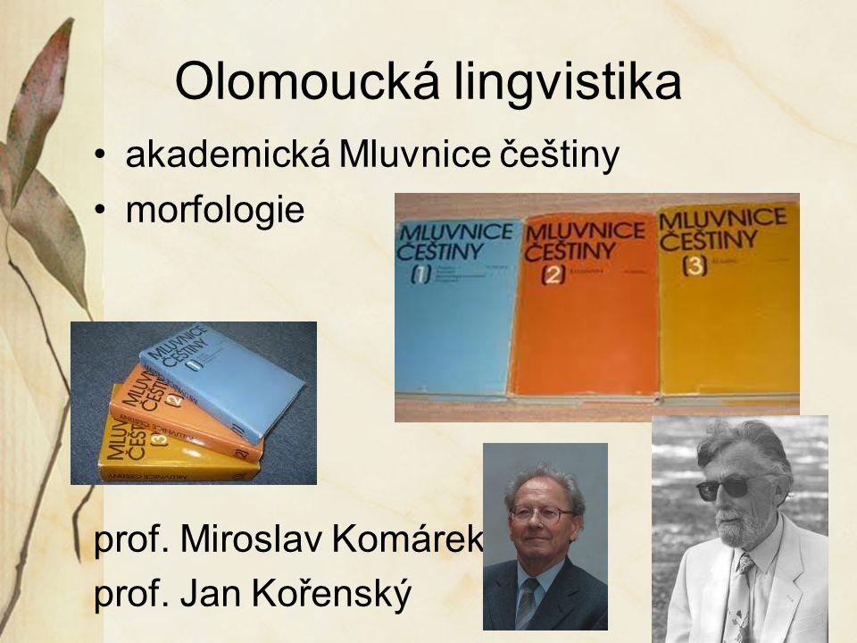 Olomoucká lingvistika
