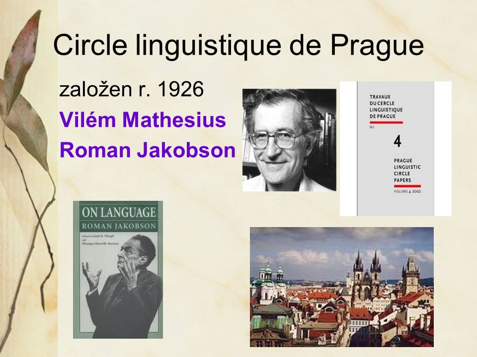 Circle linguistique de Prague