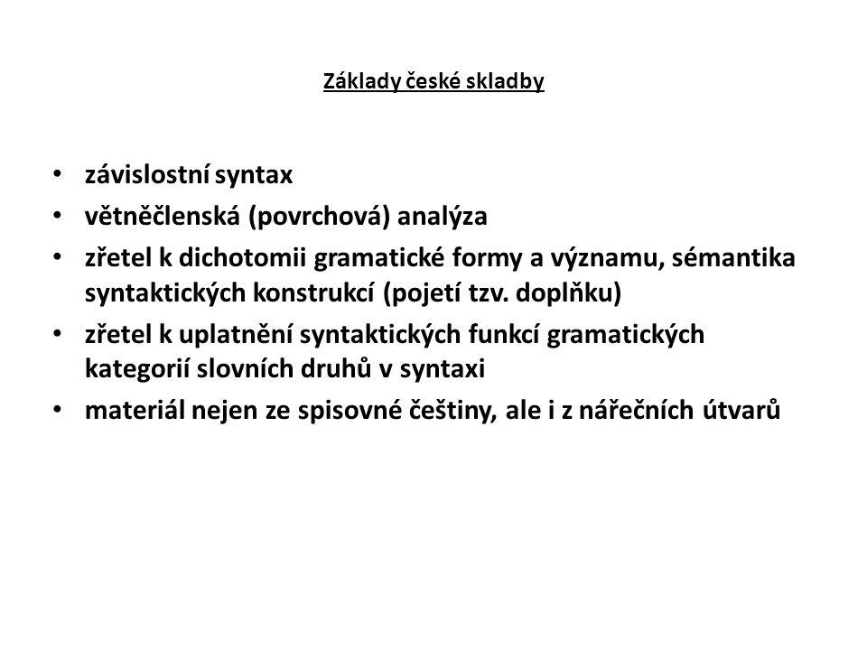 větněčlenská (povrchová) analýza