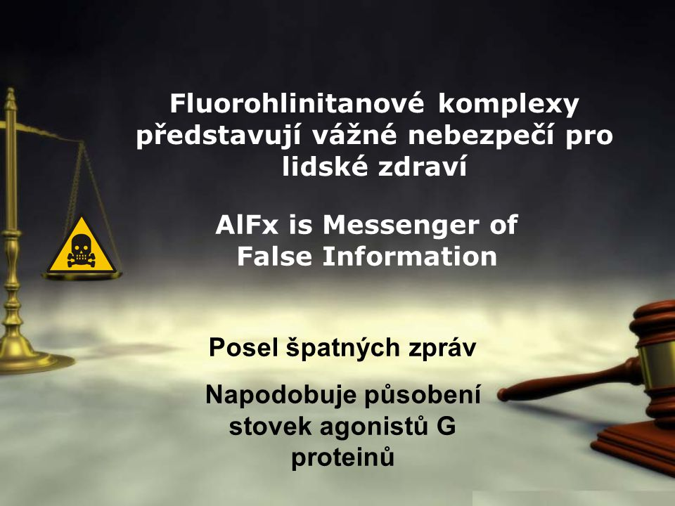 AlFx is Messenger of False Information