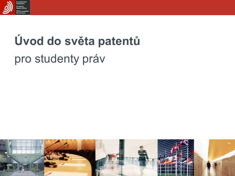 Úvod do světa patentů pro studenty práv