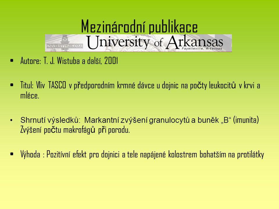 Mezinárodní publikace