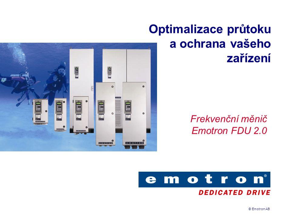 Optimalizace průtoku a ochrana vašeho zařízení