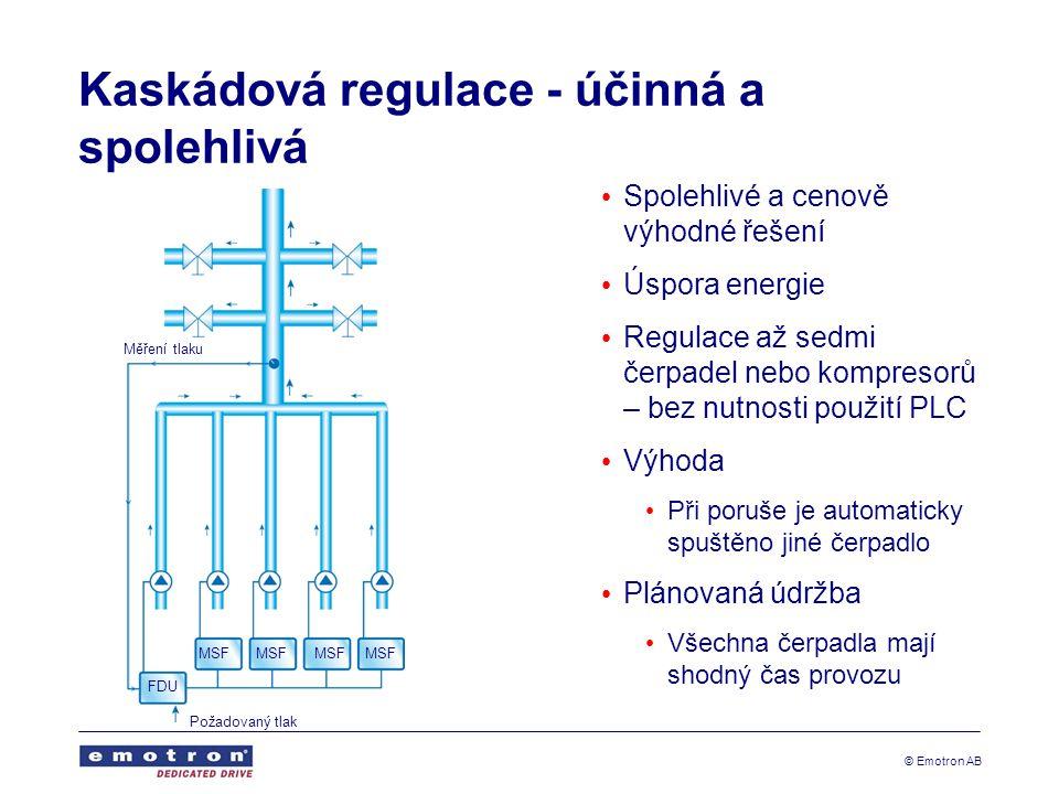 Kaskádová regulace - účinná a spolehlivá