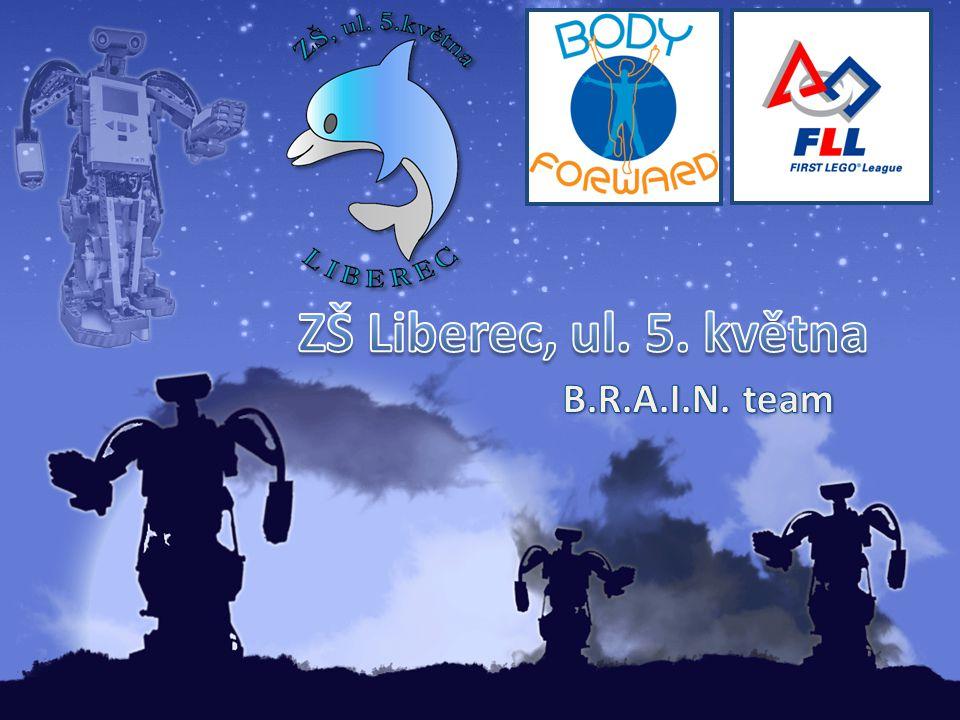 ZŠ Liberec, ul. 5. května B.R.A.I.N. team