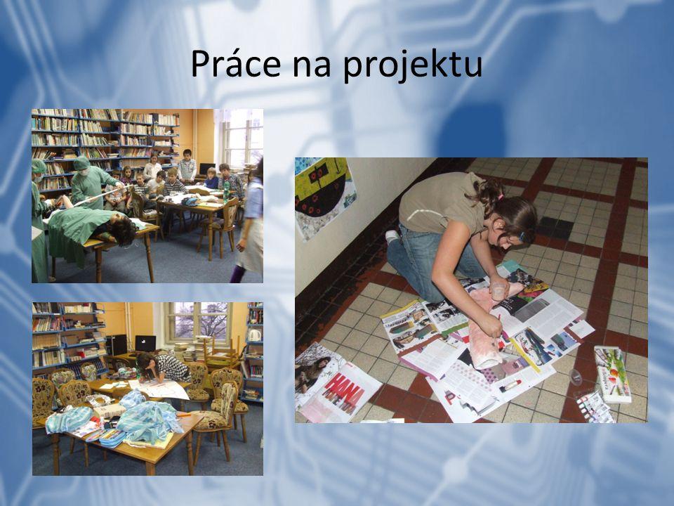 Práce na projektu