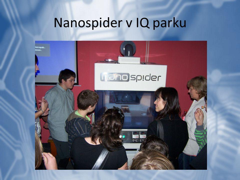 Nanospider v IQ parku