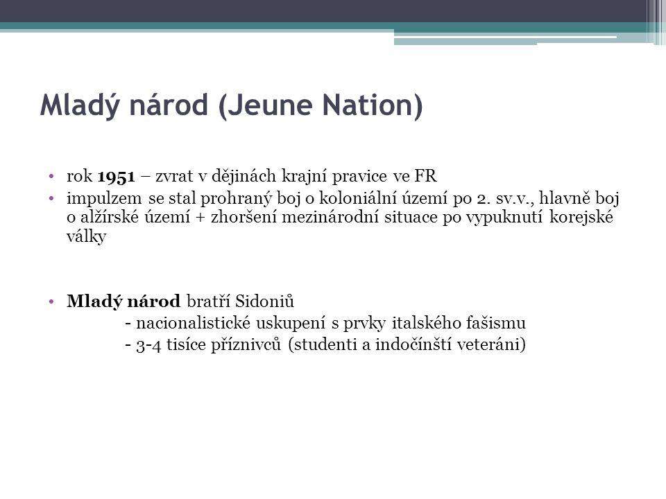 Mladý národ (Jeune Nation)