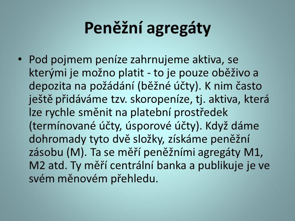 Peněžní agregáty