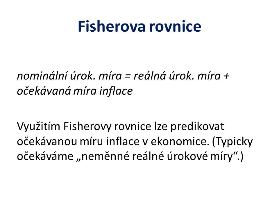 Fisherova rovnice