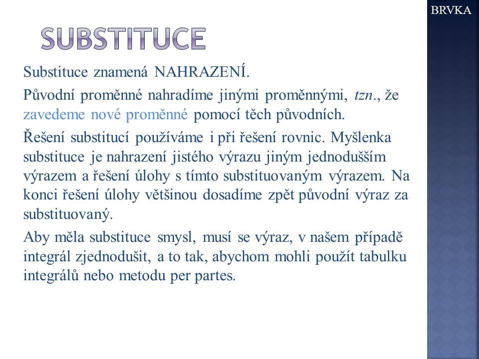 BRVKA substituce.