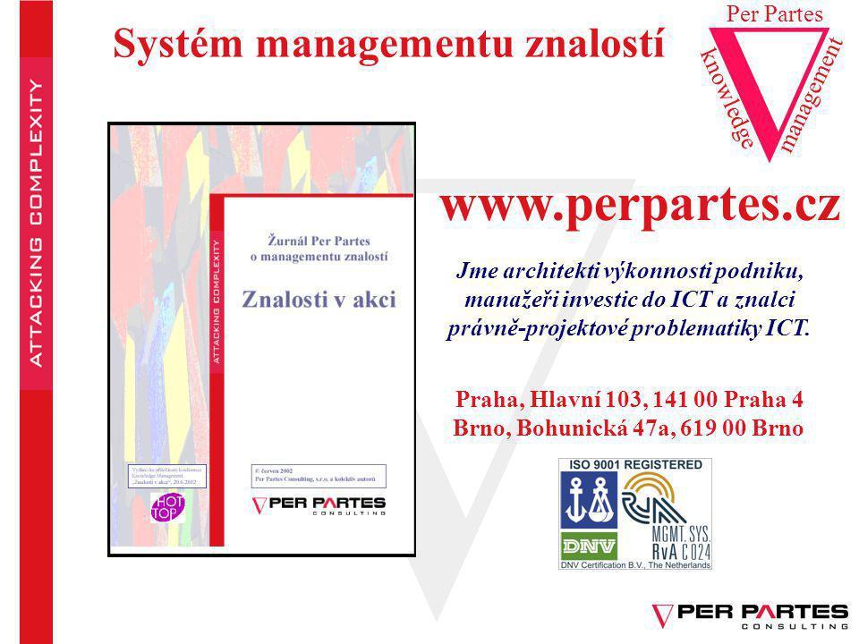 www.perpartes.cz Systém managementu znalostí Per Partes management