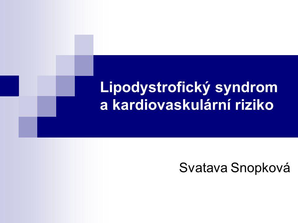 Lipodystrofický syndrom a kardiovaskulární riziko