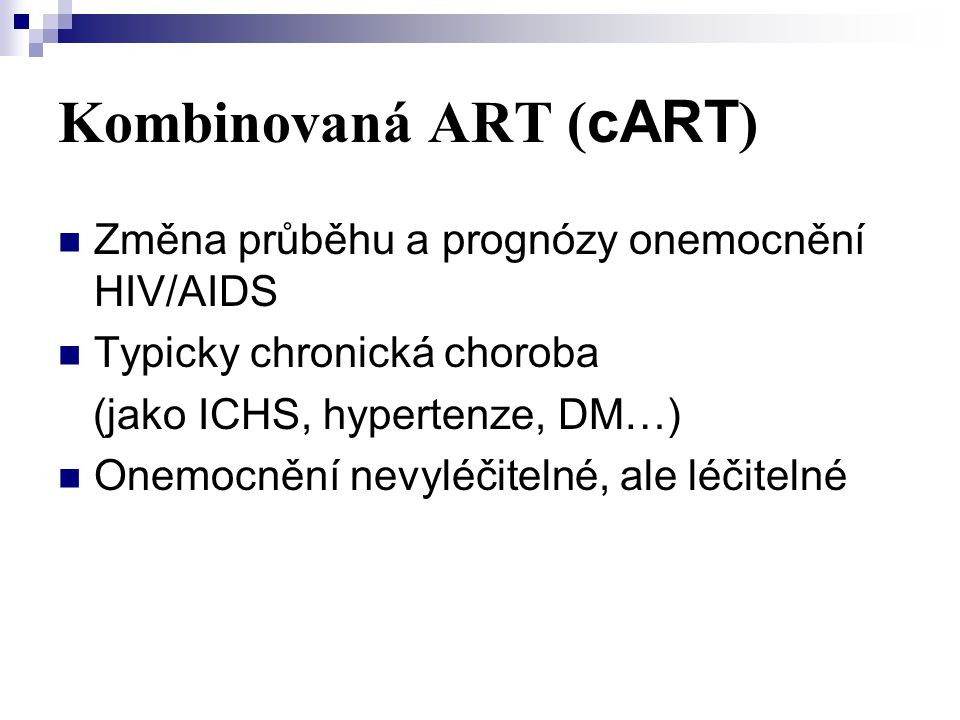 Kombinovaná ART (cART)