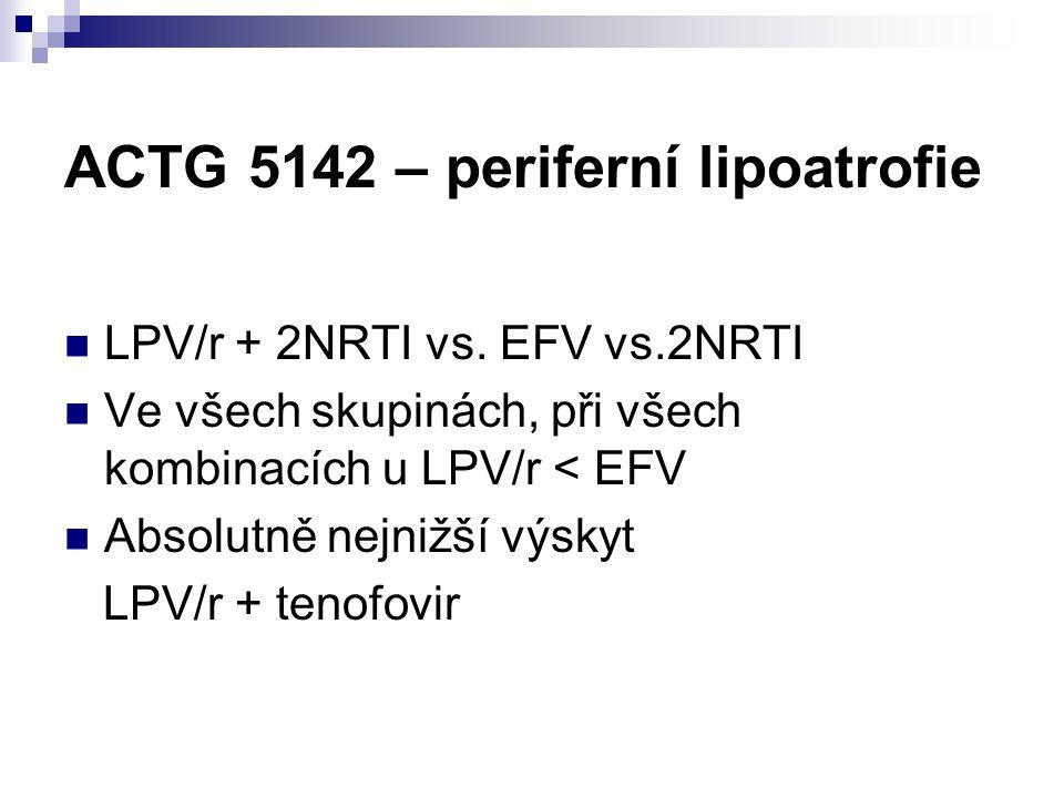 ACTG 5142 – periferní lipoatrofie