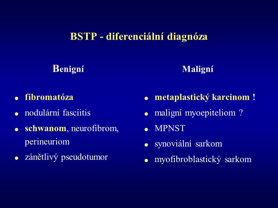 BSTP - diferenciální diagnóza