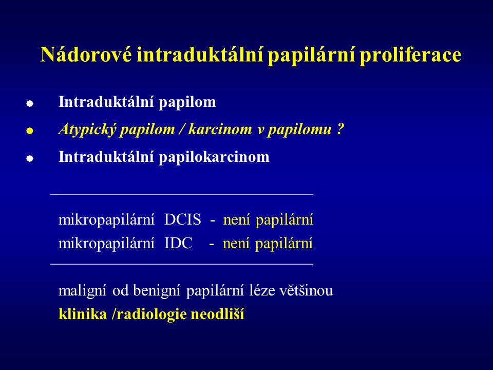 Nádorové intraduktální papilární proliferace