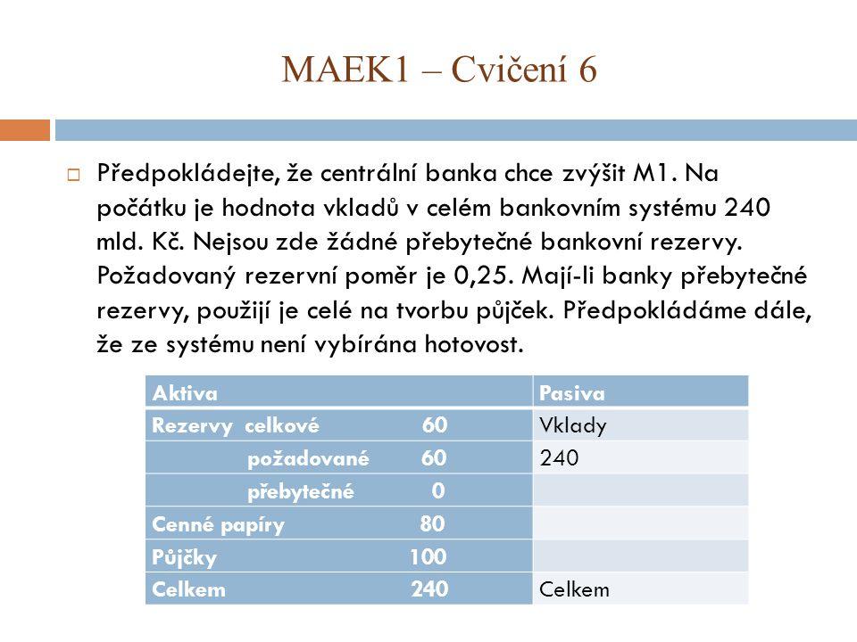 MAEK1 – Cvičení 6