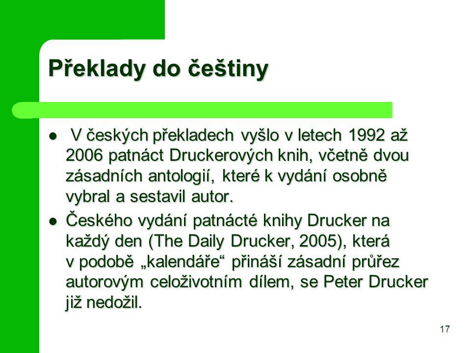 Překlady do češtiny