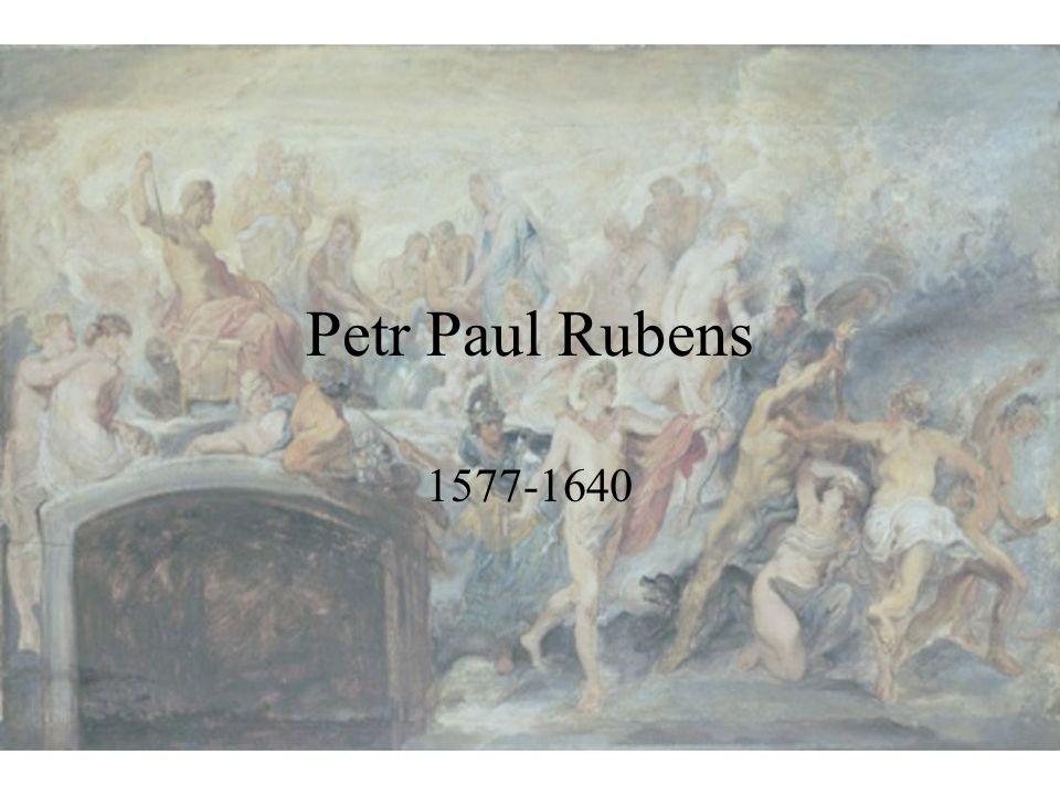 Petr Paul Rubens 1577-1640 V pozadí: Rada bohů