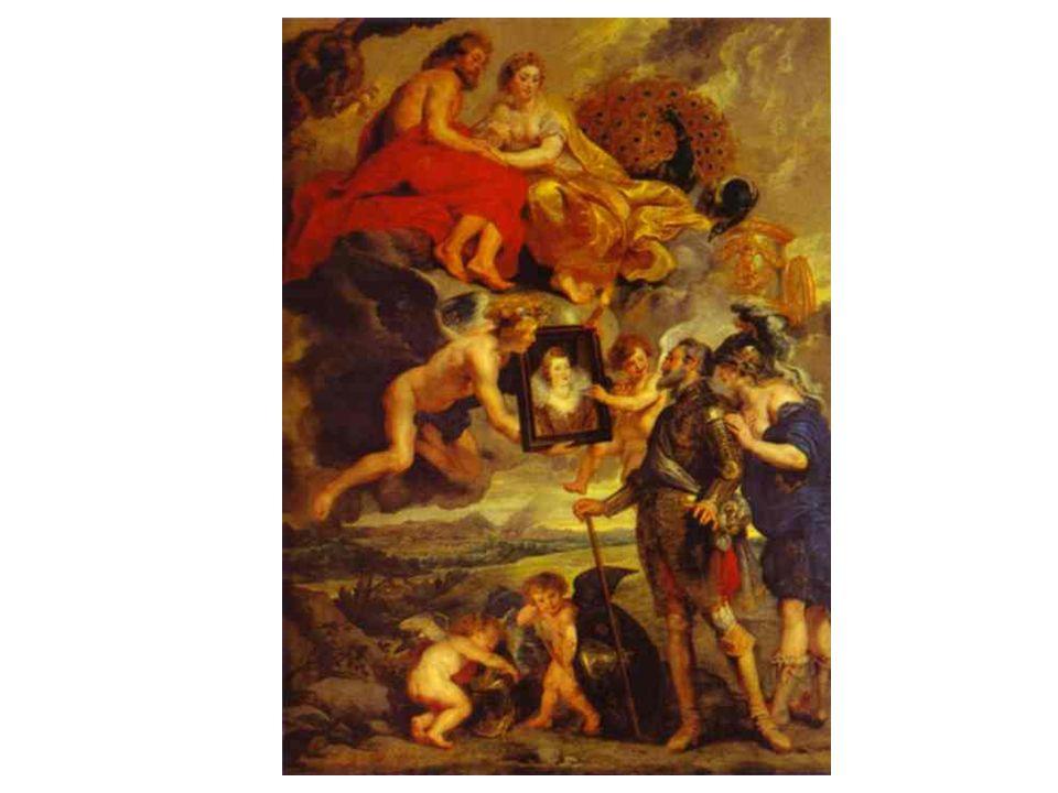 Jindřich IV obdržel portrét Marie Medicejské