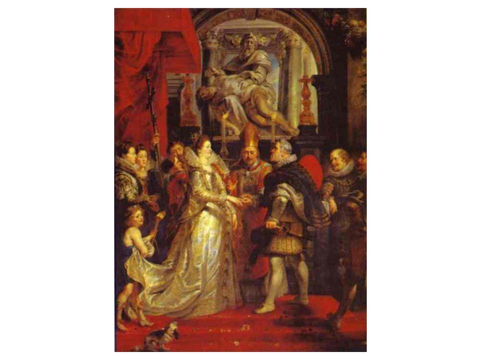 Svatba Marie Medicejské a Jindřicha v roce 1600