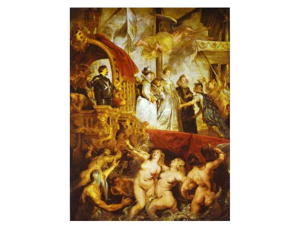 Vylodění Marie Medicejské v Marseilles
