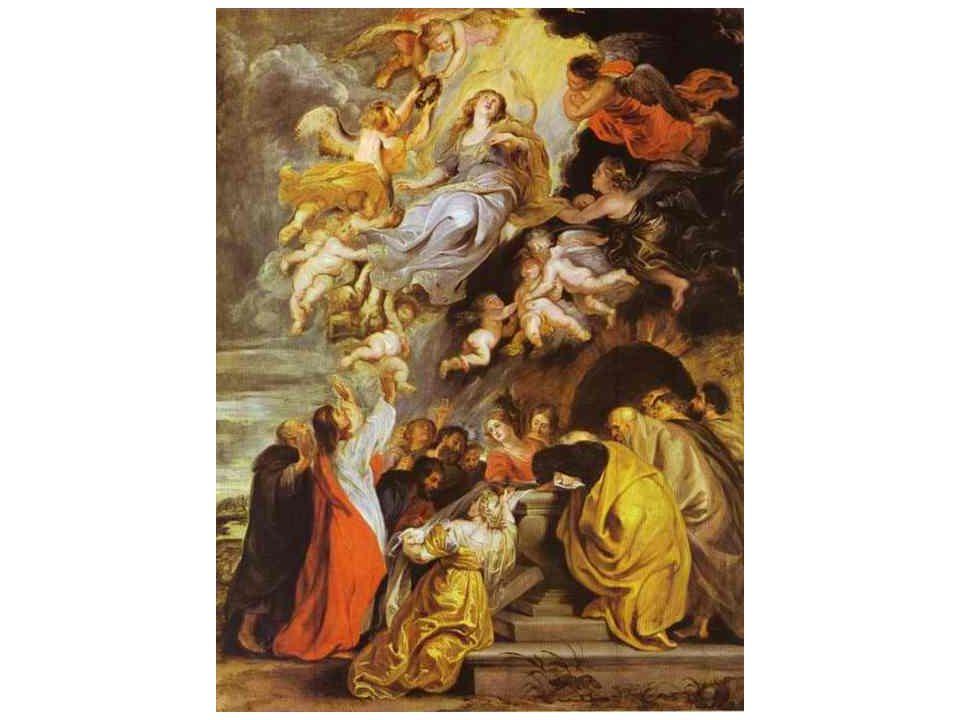 1 z verzí Nanebevzetí Panny Marie 1611-1614