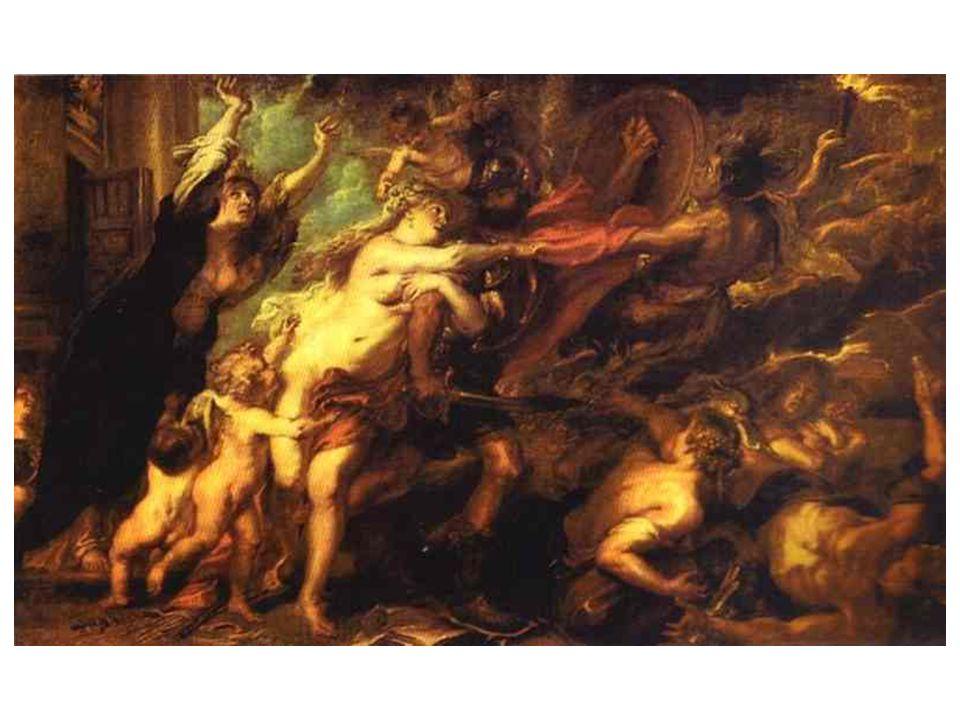 Alegorie války aneb Následky války; 1657-58; metaforicky spojeno s třicetiletou válkou.