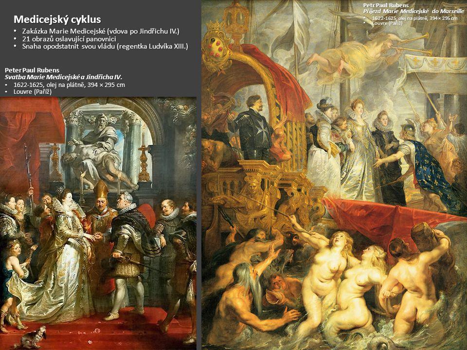 Medicejský cyklus Zakázka Marie Medicejské (vdova po Jindřichu IV.)
