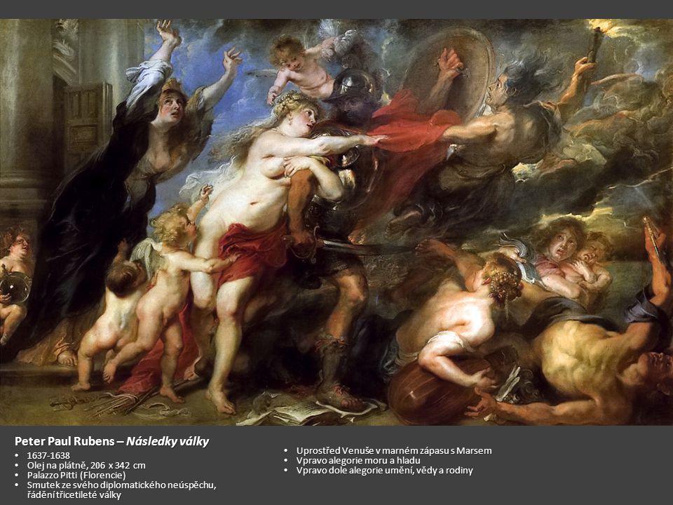 Peter Paul Rubens – Následky války