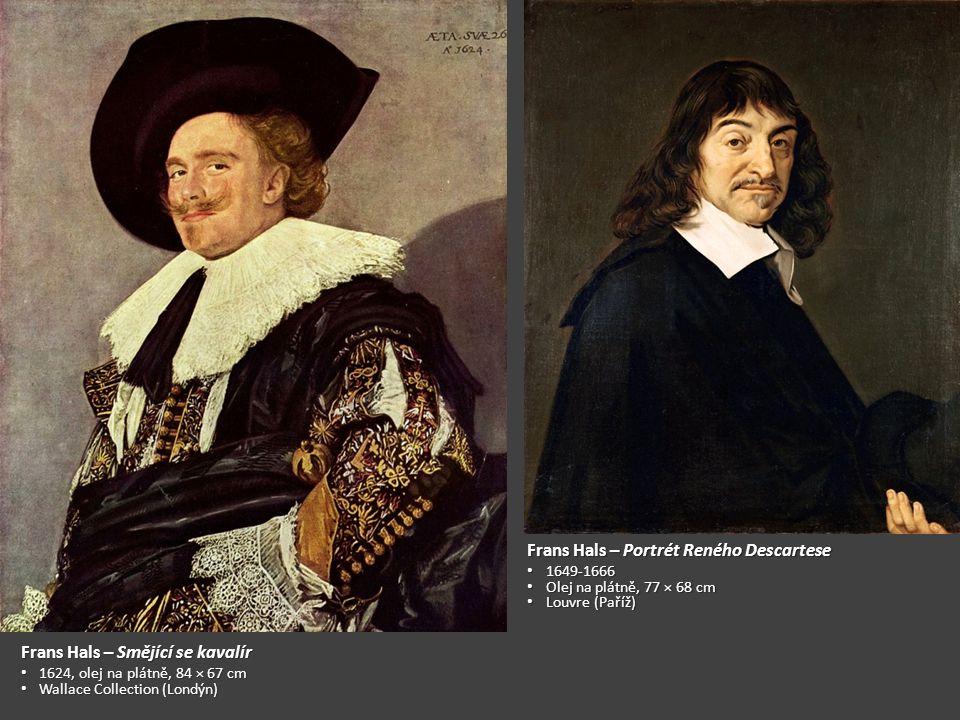 Frans Hals – Portrét Reného Descartese