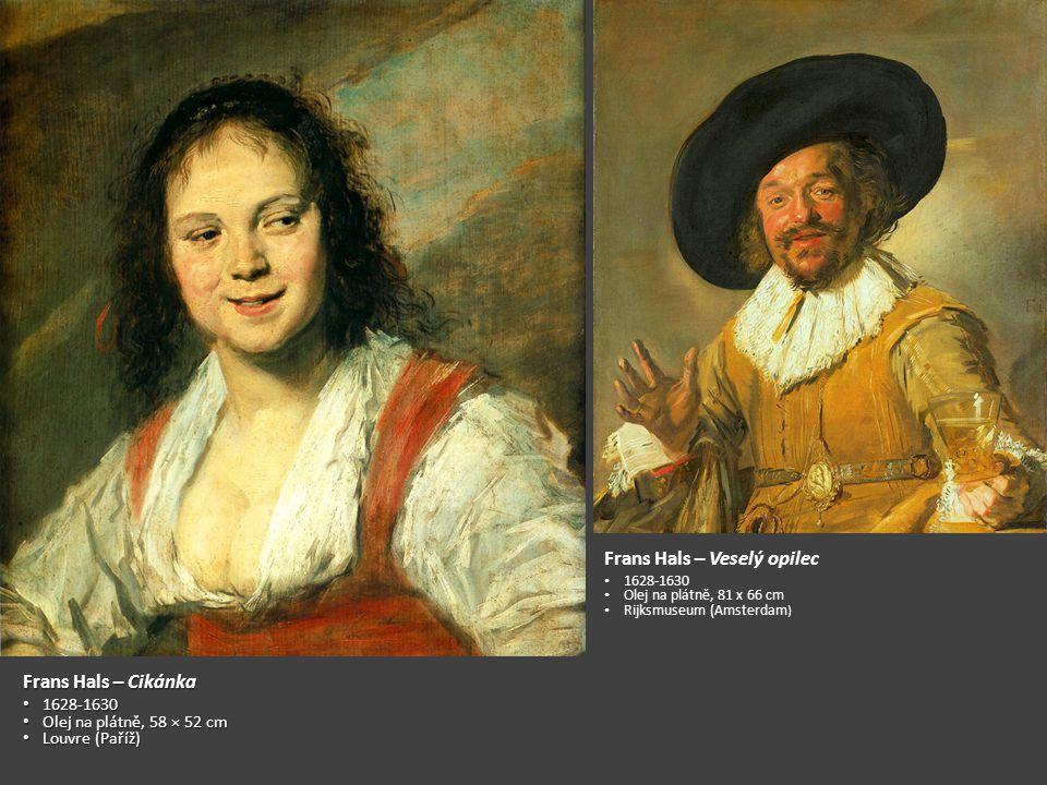 Frans Hals – Veselý opilec