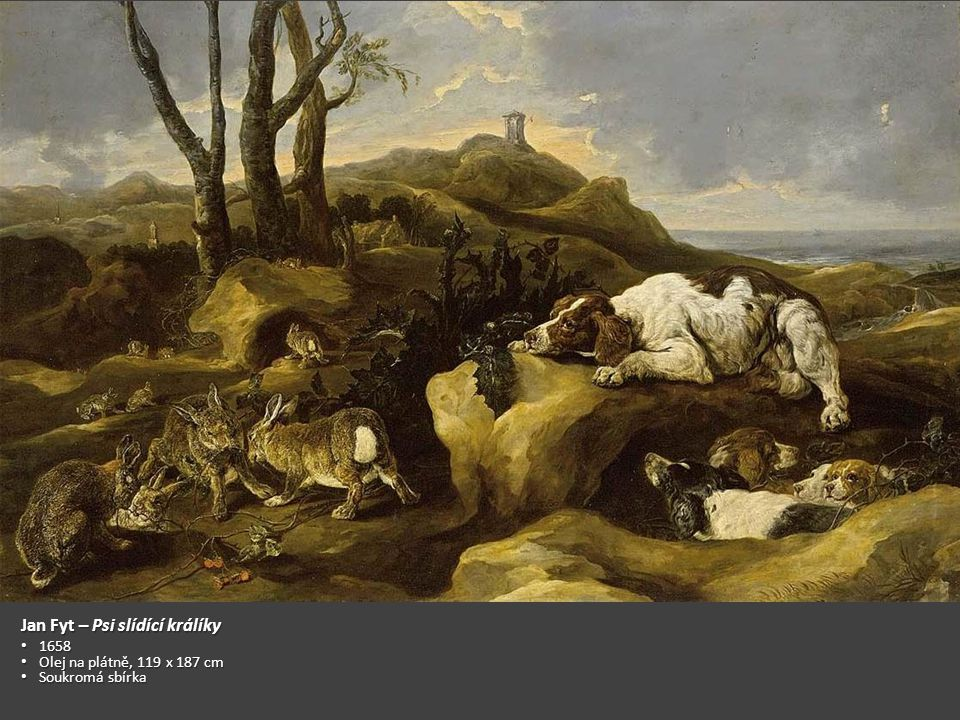 Jan Fyt – Psi slídící králíky