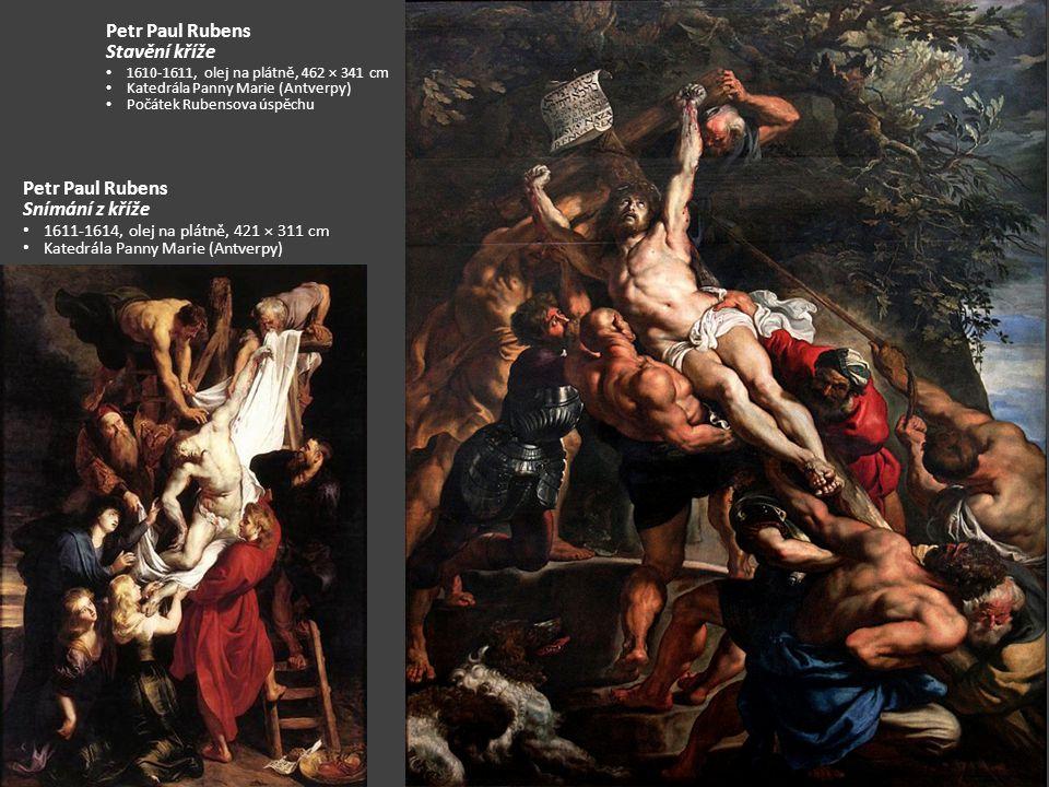 Petr Paul Rubens Stavění kříže Petr Paul Rubens Snímání z kříže